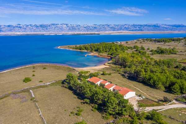 Chorvatsko ubytování píseèná pláže