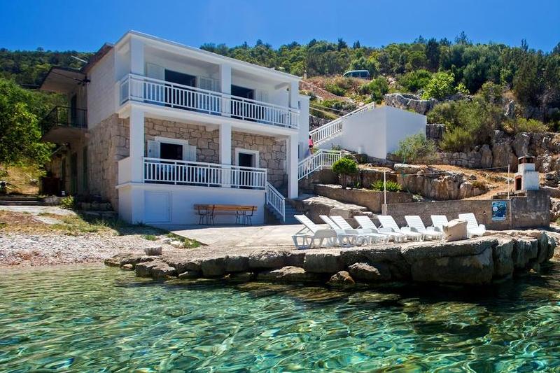 Chorvatsko dům samota