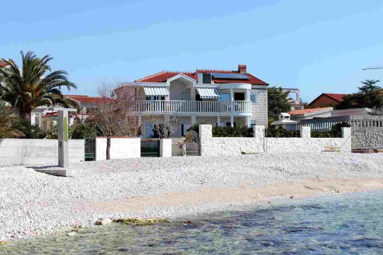 Rodinné apartmány s bazénem Chorvatsko