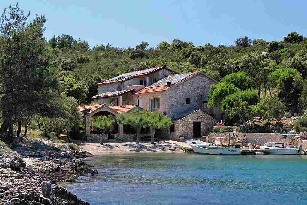 Chorvatsko robinzonské apartmány a domy