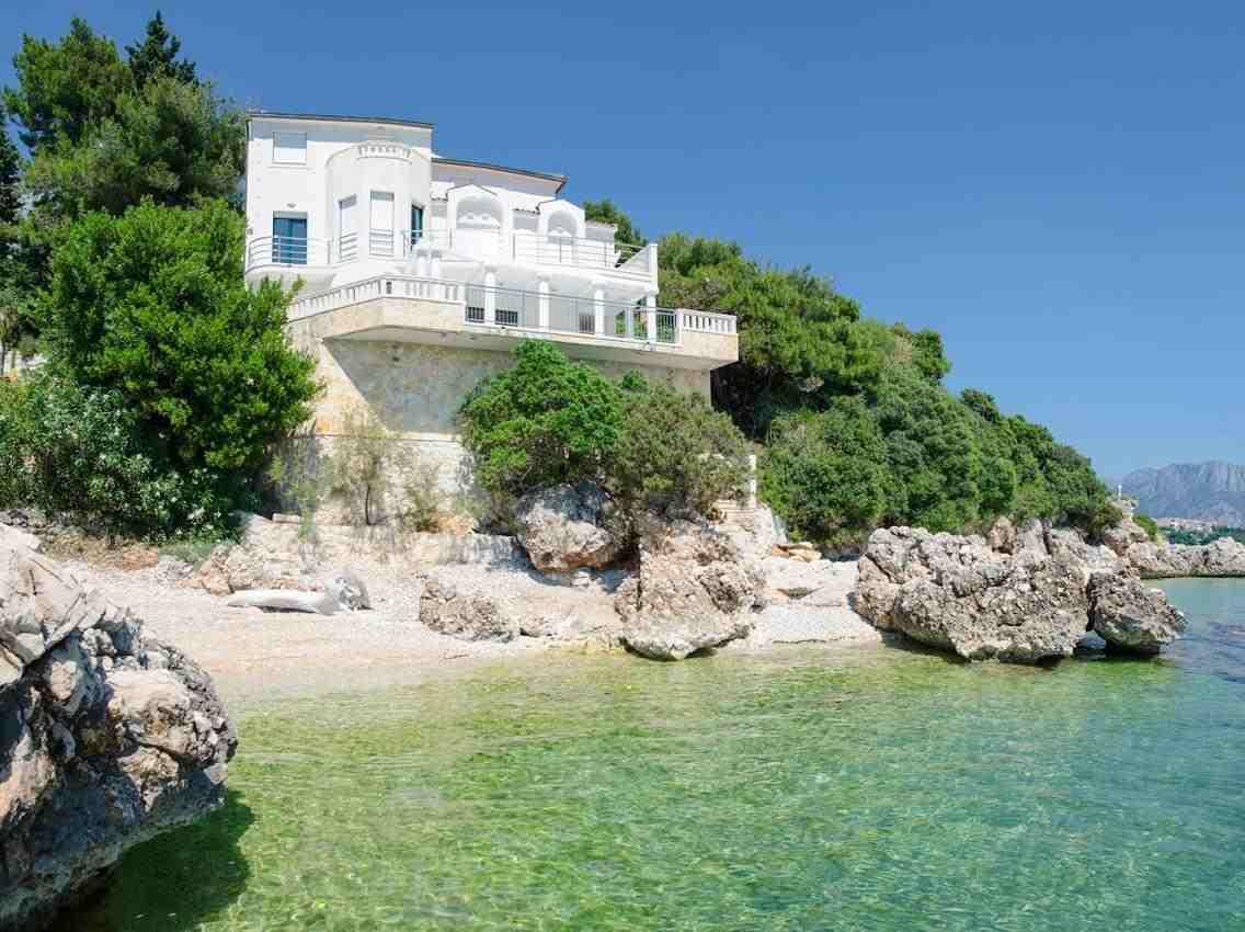 Chorvatsko apartmánové domy a vily