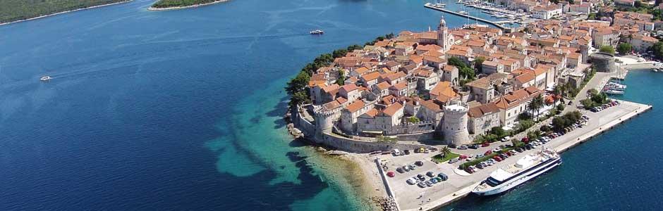 Trajekt ostrov Korčula