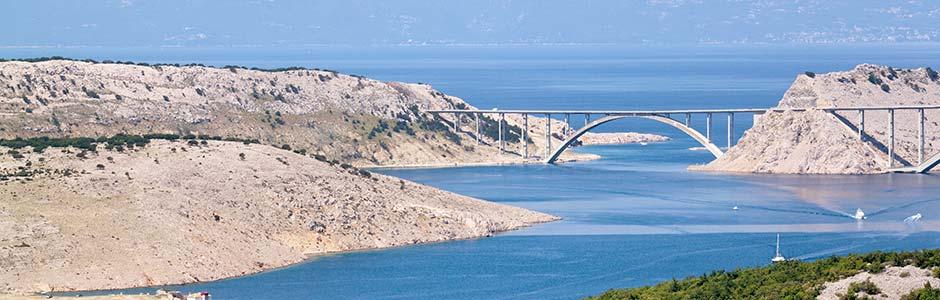 Most ostrov Krk