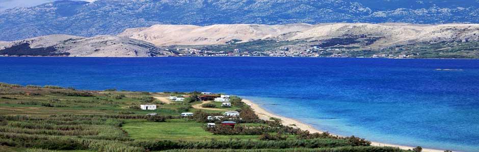 Trajekt ostrov Pag